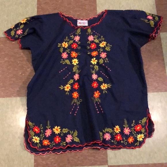 8d8dd354 Unique Vintage Tops | Vintage Floral 70s Knit Top Md Lg 40 | Poshmark